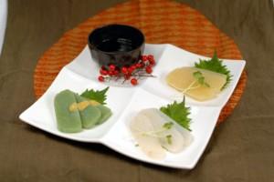 さしみ(3種盛り)料理